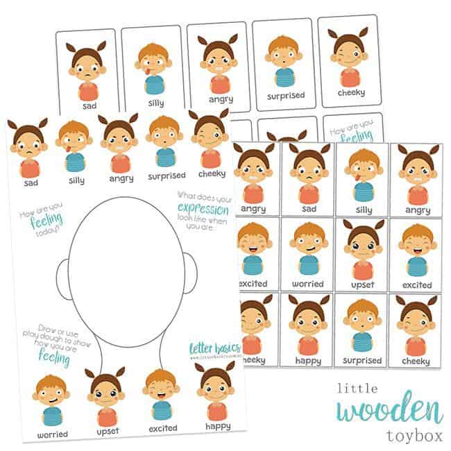 Teaching Emotions Letter Basics Activity Pack
