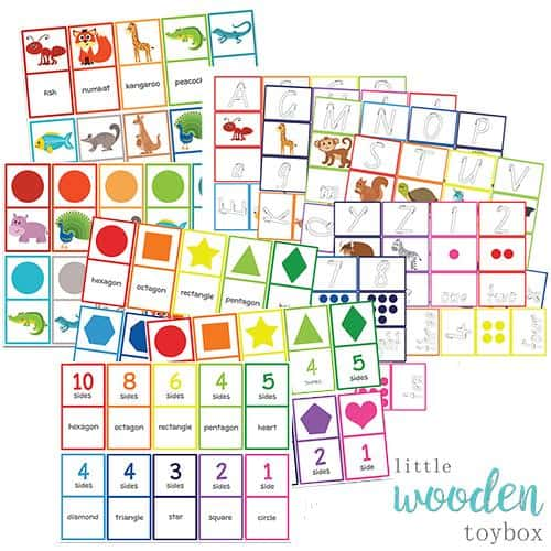 Letter Basics Matching Game