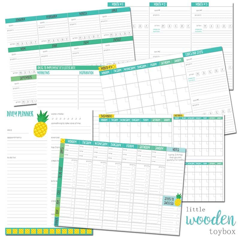 Letter Basics Business Planner