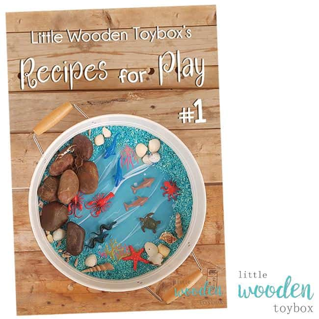 Letter Basics Recipe for Creative Play eBook