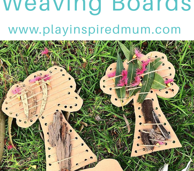 DIY Nature Weaving Boards