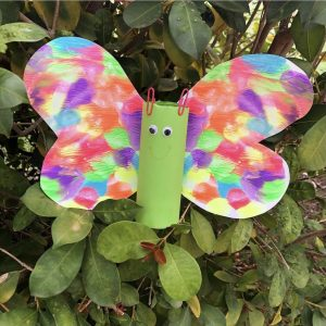 Butterfly Toilet roll craft